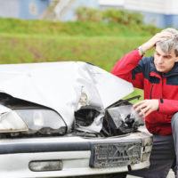 Man-in-auto-accident