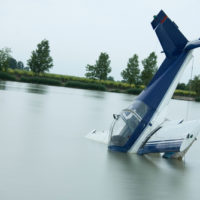 A-plane-crashes-in-the-ocean