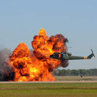 Fire-caused-by-helicopter-accident