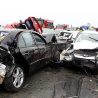 Five-car-accident