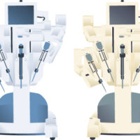 Medical-machine-called-DaVinci-Surgical-Robot