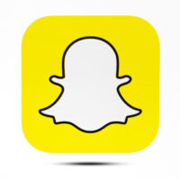 The icon for snapchat