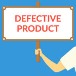 defective product sign